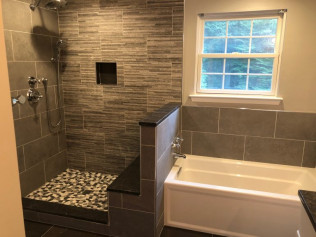 bathroom remodeling contractor in Huntingtown, MD